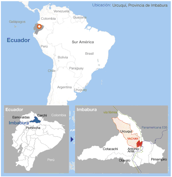 University Jobs At Yachay Tech University - Where is ecuador located